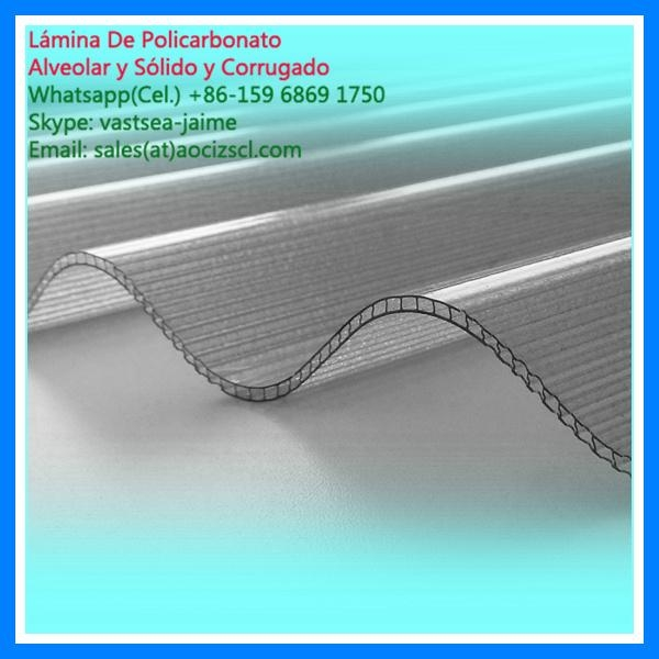 colored polycarbonate panel twin wall polycarbonate hollow sheet 3