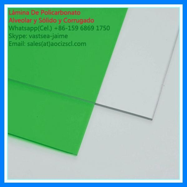 transparent roofing triple wall polycarbonate hollow sheet 2