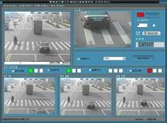 高清電子警察闖紅燈抓拍系統(地感觸發)