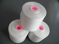 TFO twisted spun yarn