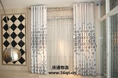 窗帘進口,窗帘布進口,進口窗帘,香港窗帘進口
