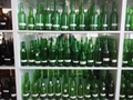 翠绿玻璃瓶绿色酒瓶 2