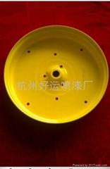 杭州喷漆钢圈喷漆加工