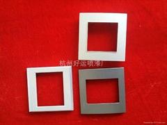 ABS   PC  PVC件杭州噴漆