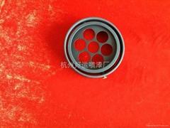 LED燈殼杭州噴漆
