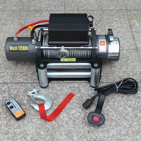 4x4 Electric winch 12500lb 1