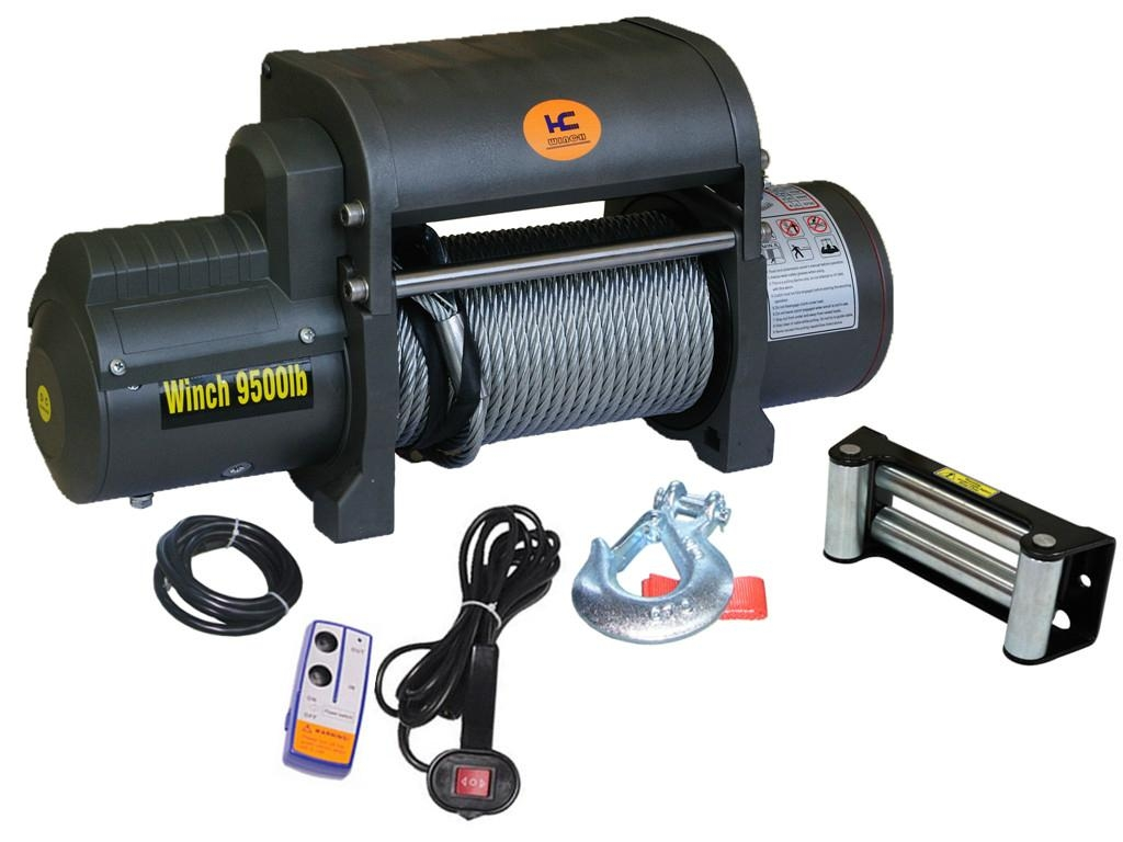 ATV UTV boat Winch 1500lb 4