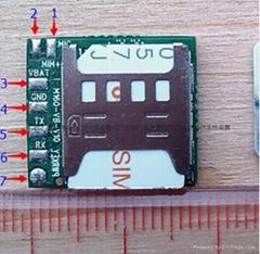 微型GSM定位模块