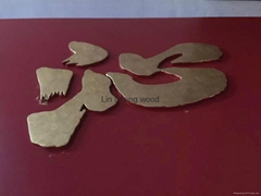 Wooden crafts creative calligraphy archaize wooden plaques