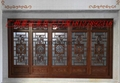 Chinese style antique background wall act the role ofing gold lacquer plaque 5