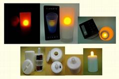 电子蜡烛控制IC