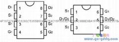 鋰電池保護IC 雙功率場效應管 8205B