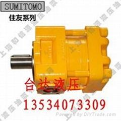 日本住友QT齒輪泵