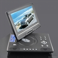 9 inch fashion design portable DVD Player with TV/FM 1
