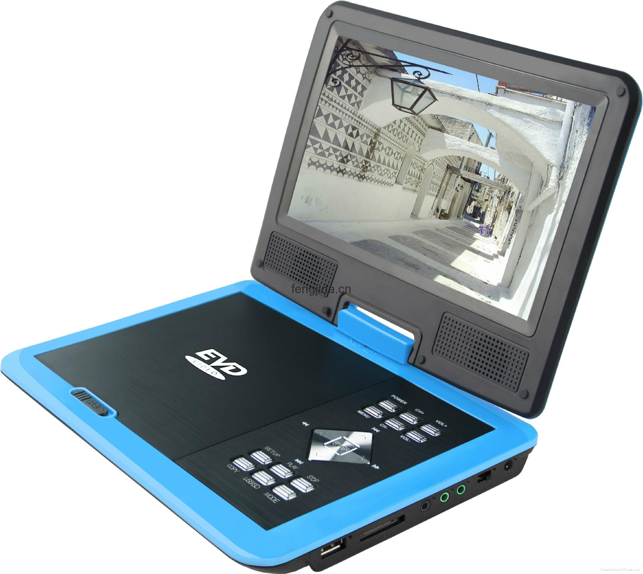 Portable DVD Player with FM/TV 2