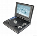 7 inch LCD screen portable DVD
