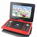 Portable DVD Player with  TV TUNER/FM 4