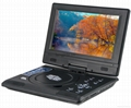 9 inch fashion design portable DVD Player with TV/FM 5