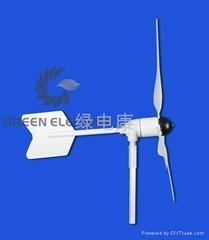 wind-solar system of 100w wind turbine