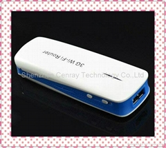 1800mAH Portable Charger Wifi Router 3G Wifi Wireless Mini USB Router