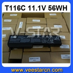 11.1V 56WH For Dell Vostro 1310 1510 1520 T116C Laptop Battery