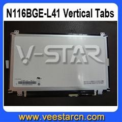 "11.6"" Laptop LED Screen N116BGE-L41 Up Down Bracket WXGA HD For ACER"