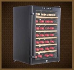 JC-65B电子按键式65L-28瓶装红酒柜 电子酒柜