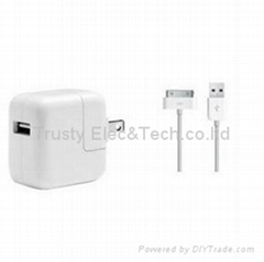 Hot selling for iPad charger with cable(American standard)
