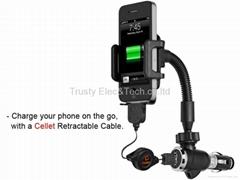 Car Charger Holder Universal Car Mount Lighter Charger Socket Plug