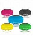 Splash Shower Tunes Waterproof Bluetooth Wireless Shower Speaker Portable