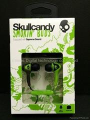 Wholesale Skullcandy G60 Smokin buds for iPod iphone ipad