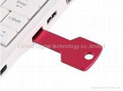 Waterproof Metal Key USB Memory Stick Flash Drive 16GB 32GB 64GB memory stick