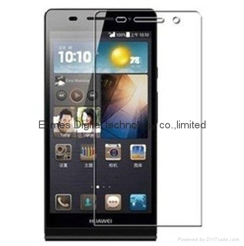 Screen Protectors 9h Hardness, 2.5d Rounded Edges, 0.3mm Thickness (Huawei P6 1