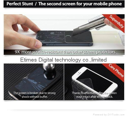 0.3mm Ultra-thin Tempered Glass Screen Protector for Samsung galaxy s5 1