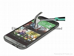 Promotional 0.3mm Ultra-thin Tempered Glass Screen Protector for Htc m8