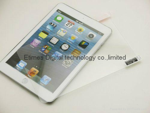 Tempered glass screen protector for ipad mini 1/2 2