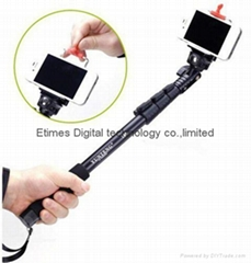 Extendable Camera Shooting Handheld Monopod Tripod Mount Holder for Iphone 5s /6