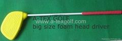 Foam head golf driver set,Junior golf club