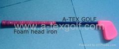 Golf foam head big head Iron,Junior golf club