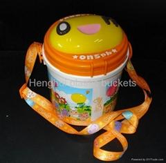 爆米花塑料桶