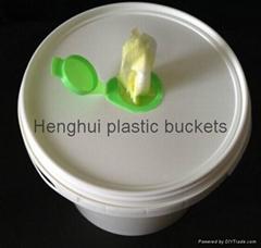 塑料濕紙巾桶