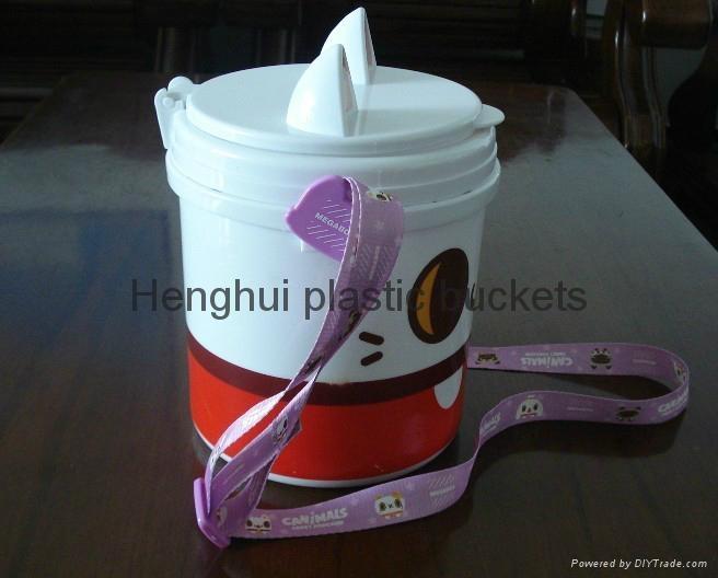 爆米花塑料桶 5