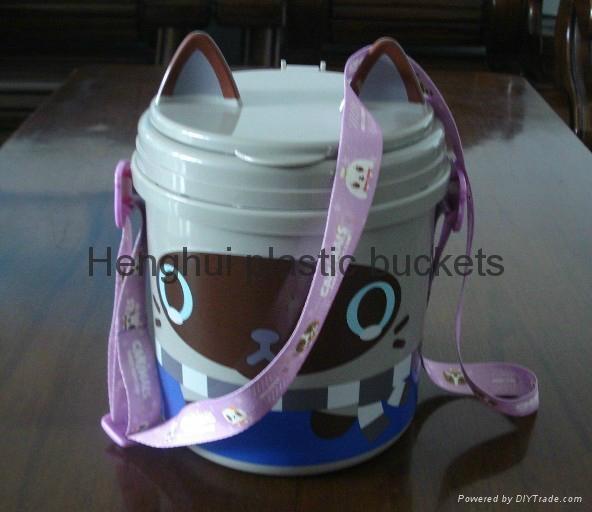 爆米花塑料桶 6