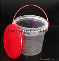 高透明食品包装桶