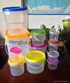高透明食品包裝桶 4