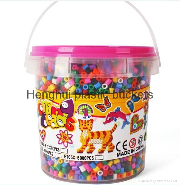 高透明食品包裝桶 5