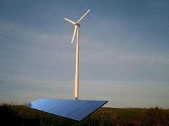 Wind and Solar Hybrid Power System