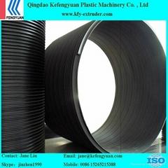 聚乙烯塑鋼纏繞排污管擠出生產線