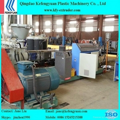 PE Heat Preservation PU foam Pipe Machine
