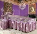 紫色NO.016加厚高檔按摩床、美容床床罩